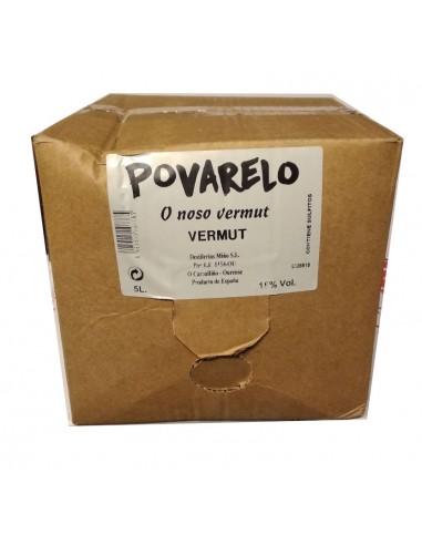 Vermouth Povarelo Tinto box 5 ltrs