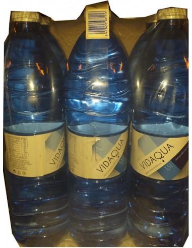 Agua vidaqua 1,5L 6 uds