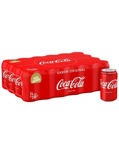 Coca cola lata 33cl. 24 uds.