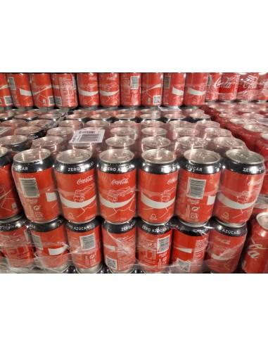 Coca cola Zero lata  33 cl. 24 uds.
