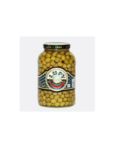 Aceitunas sabor anchoa LUPY galón 3,600