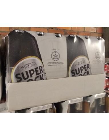 Cerveza Super Bock Negra sin alc.24uds