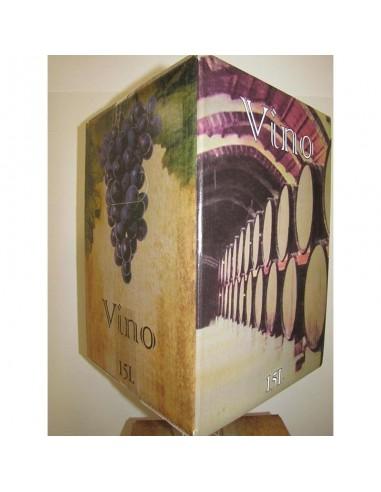 Bag in Box viño tinto Mencía 15L