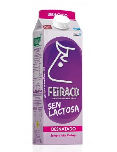 Leche sin lactosa Desnatada Feiraco...